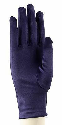Satin Dress Gloves - Party, Evening, Prom, Wedding or Dress Up - Hey Viv !