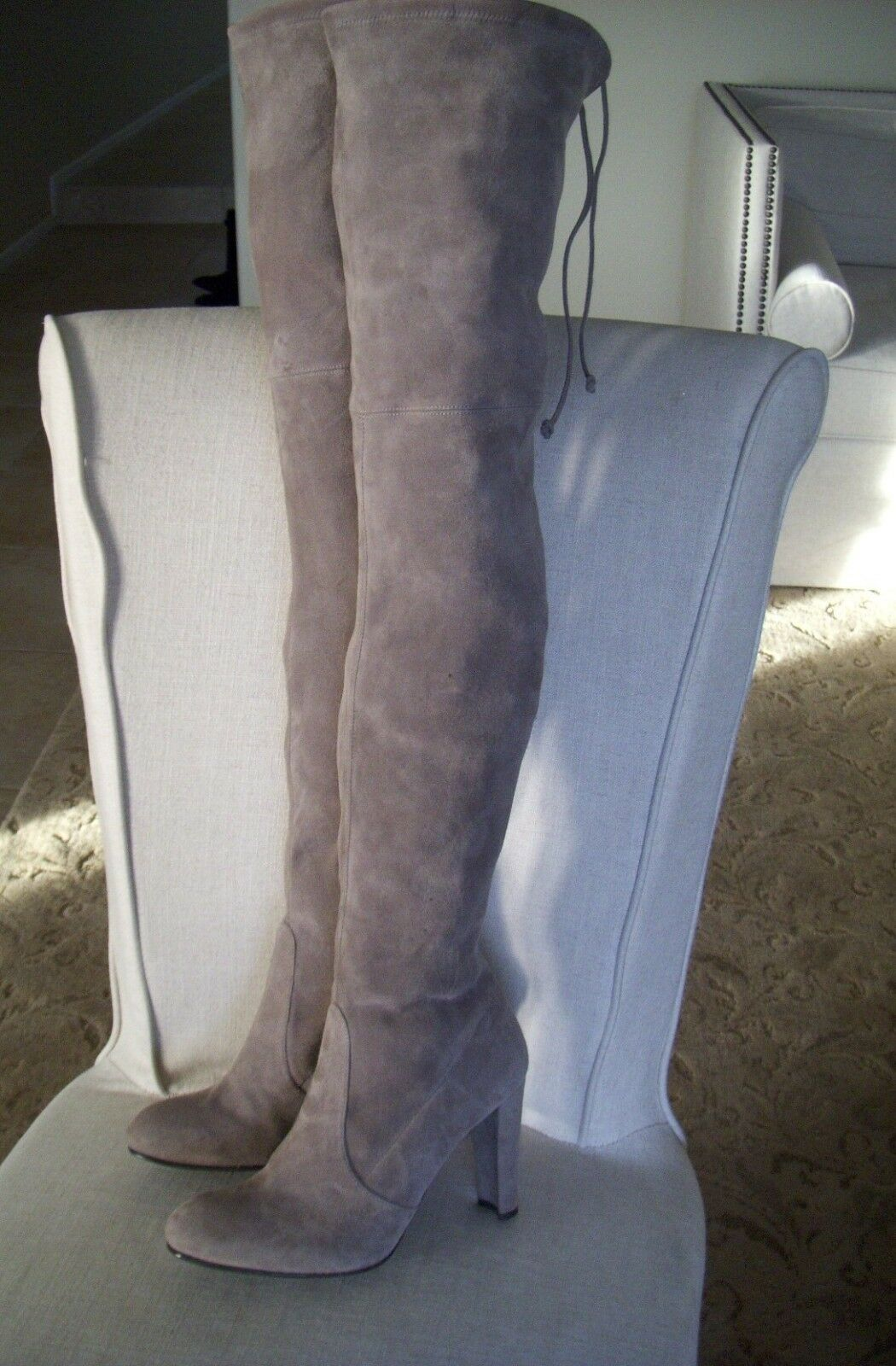 Authentic Stuart Weitzman Weitzman Weitzman Highland Over the Knee Stiefel Größe 9.5 M  845 9281c8