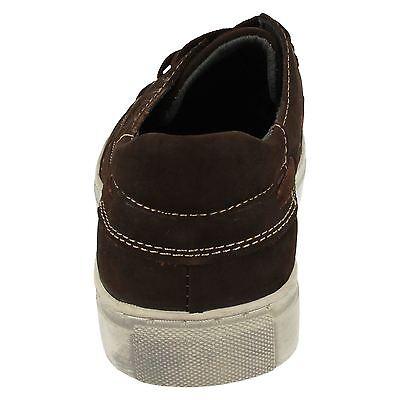Ausverkauf Maverick A2116 Herren braun Nubukleder Leder Schnürer Freizeit Schuhe