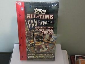 2004-TOPPS-ALL-TIME-FAN-FAVORITES-FOOTBALL-FACTORY-SEALED-HOBBY-BOX-B9-C-24pk