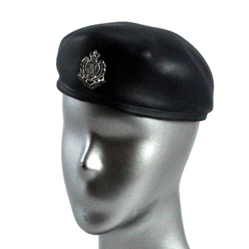 6175e2 Dragon Models HK Police Blue Beret Hat for Action Figures 1:6