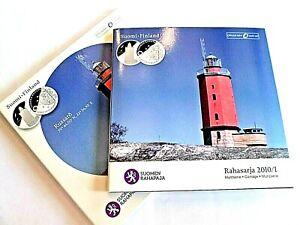 BEAU COFFRET OFFICIEL BU FINLANDE 2010 8 PIECES + UNE MEDAILLE