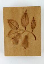 Springerle  Holz Model Motiv Birne Springerle