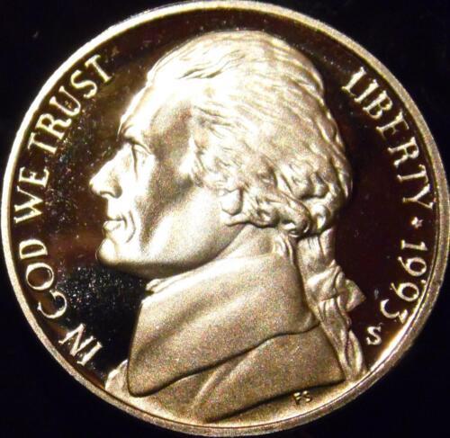1993-S Jefferson Nickel Gem Proof Uncirculated