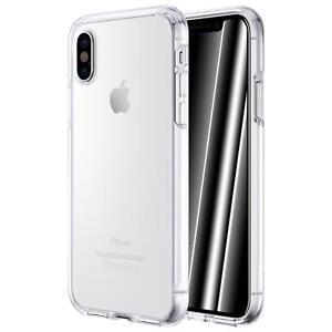 Duenn-Slim-Cover-Apple-iPhone-X-10-Handy-Huelle-Silikon-Case-Schutz-Tasche