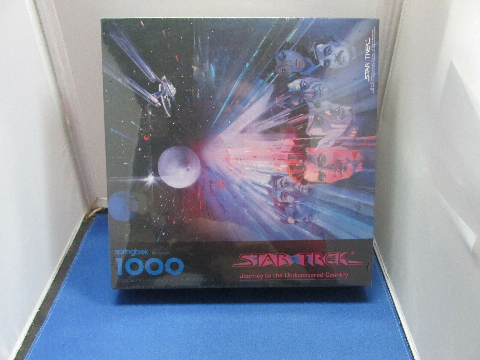 Star Trek  Journey to the Undiscovered Country   Hallmark Puzzle  1000 Pieces