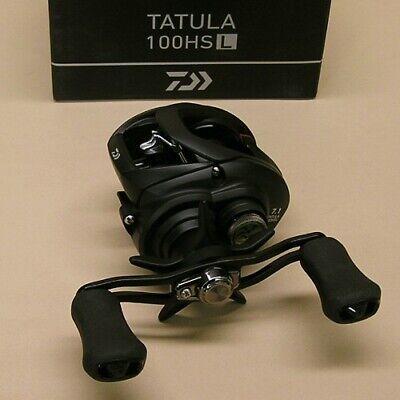 NEW DAIWA TATULA 100HSL 7.3:1 LEFT HAND BAITCAST REEL TTU100HSL