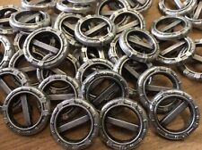 """13 pcs Antique Silver """"WHEEL"""" Metal Button 23MM 7/8"""" Shank Base Made In Italy"""
