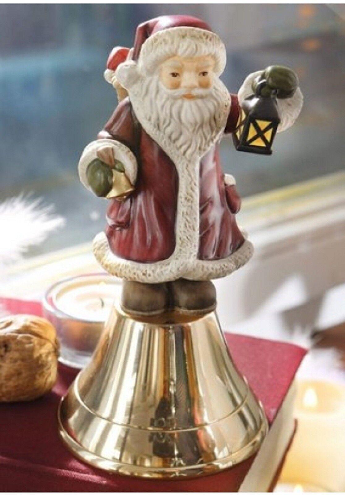 Goebel CAMPANA CAMPANA CAMPANA Babbo Natale, Babbo Natale, Natale Campana, Landhaus NUOVO 99b7b7