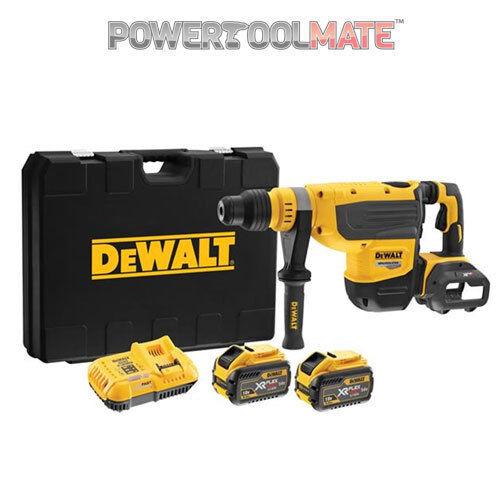 Dewalt DCH733X2 54V XR FLEXVOLT SDS Max Rotary Hammer with 2 x 54v Batteries
