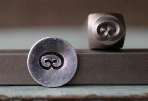 SUPPLY GUY 6mm Fishing Hook Metal Punch Design Stamp SGCH-81