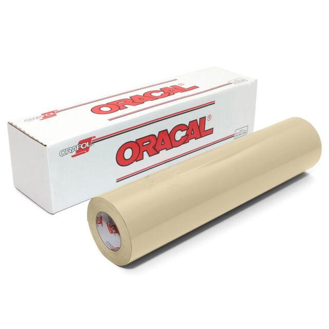 ORACAL 651 Outdoor Permanent Vinyl BURGUNDY 12 in x 10 ft roll