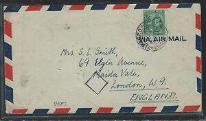 TRINIDAD AND TOBAGO (P2906B) 1947 KGVI $1.20 A/M TO ENGLAND