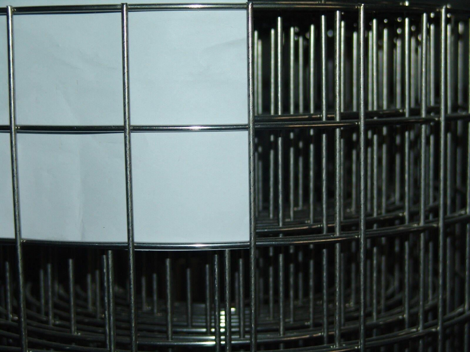 Volierendraht aus Edelstahl V2A 1x1m   50,8 x 50,8mm   3,0mm  Drahtstärke