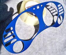 1995-1999 Eclipse Avenger Sebring Blue Aluminum Bezel Overlay For Cluster MT