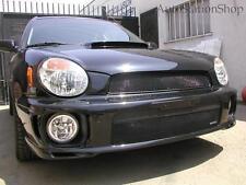 Subaru 2002-2003 Impreza / Wrx Grille Upper + Lower Mesh Grilles Gloss Black
