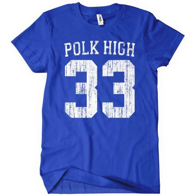 Polk High T-Shirt Al Bundy Married With TEE Children Funny No Maam Football