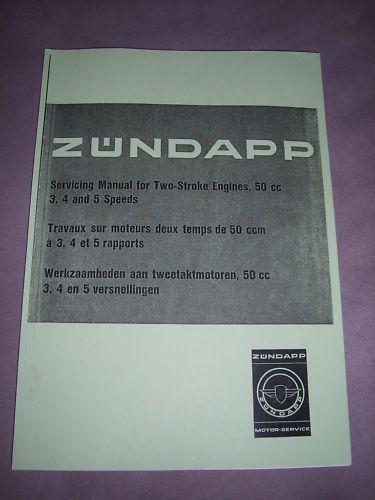 Zündapp travaux sur moteurs deux temps de 50 CC