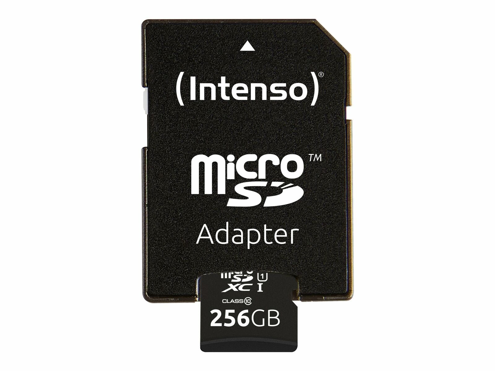Intenso Premium Flash memory card (microSDXC to SD adapter included) 256 3423492