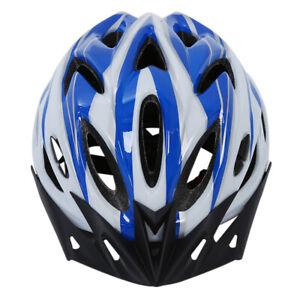Proteccion-Casco-azul-blanca-para-el-Bicicleta-de-montana-Bicicleta-unisexo-Z1H8