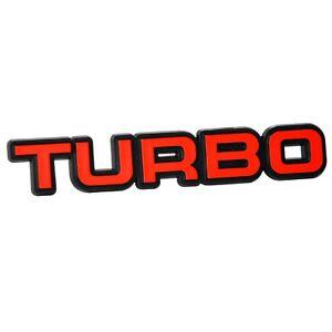 Auto-3D-Relief-Schild-TURBO-Emblem-10-cm-Richter-HR-Art-14567-selbstklebend