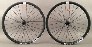 DT-Swiss-HE-1800-E-Road-Gravel-Bike-Disc-Brake-Wheels-12mm-Thru-Axle-Fit-Shimano