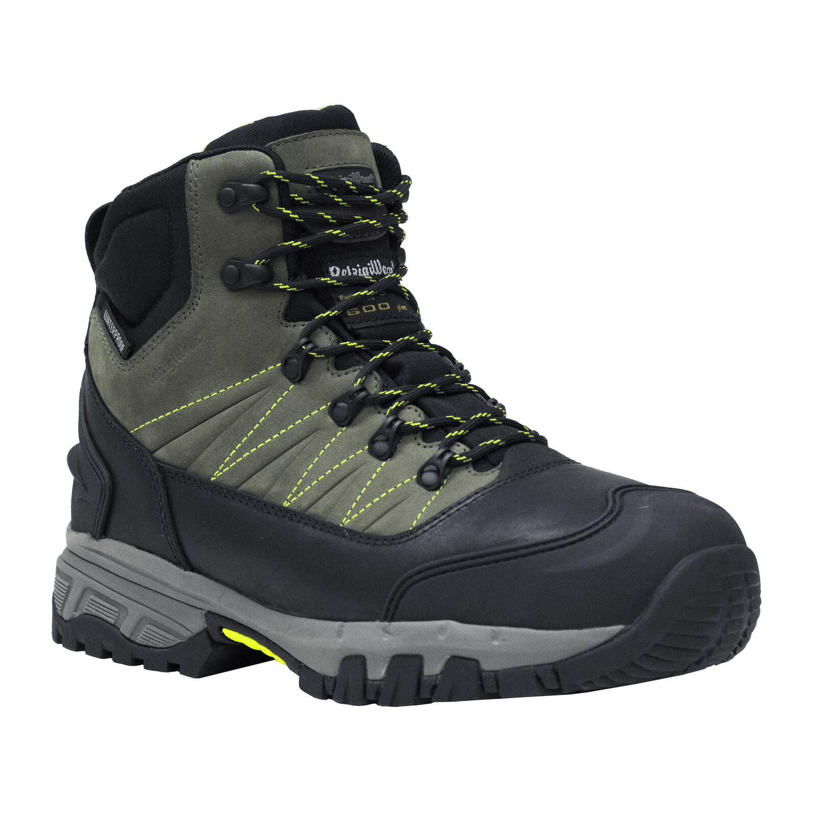 RefrigiWear Men's Tungsten Hiker Warm Insulated Waterproof Leather Work Boots