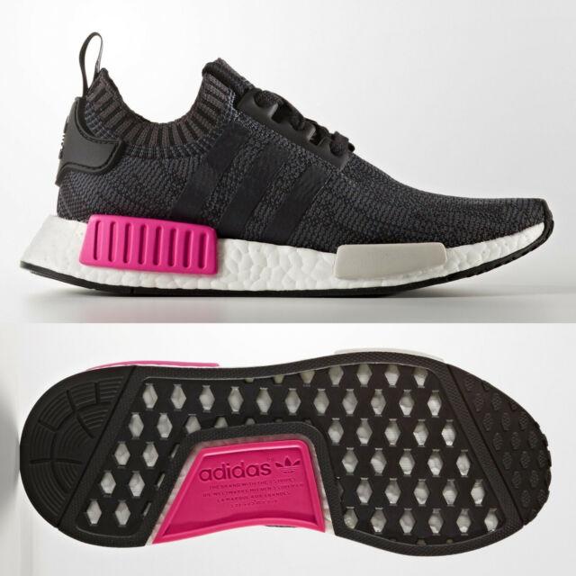 Adidas Originals nmd_r1 PK Damen Sneaker schwarz pink bb2364 Größe 5 UK