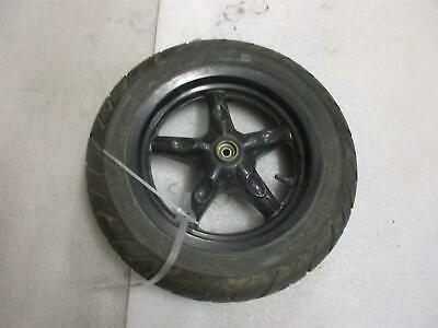 Adattabile Daelim S-cinque 50 Sj Cerchione Anteriore Nero Ruota 3,00 X 12 Pollici Wheel Rim Può Essere Ripetutamente Ripetuto.