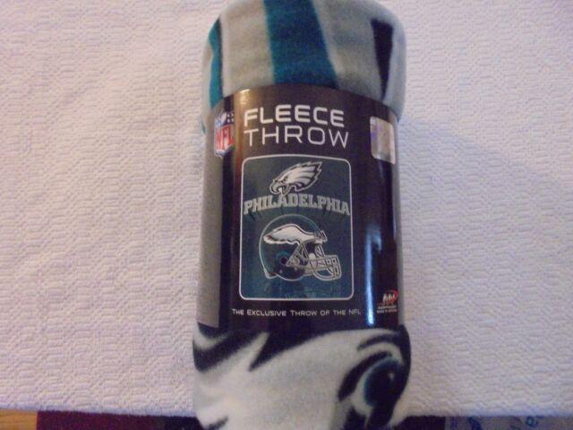 0c7f86bd41a NFL Team Fleece Throw Blanket 50x60 Several Teams Available Designs Philadelphia  Eagles