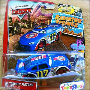 Disney PIXAR Cars LIL TORQUEY PISTONS NO. 117 RADIATOR SPRINGS ...