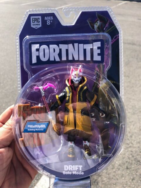 Fortnite Figure 4 Drift Solo Mode Epic Game Jazwares In Hand Free
