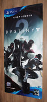 Destiny 2 Rare Promo Game Store Vinyl Banner Poster Playstation 4 Xbox One