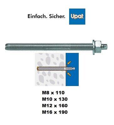 Ankerstangen Gewindestangen Verbundanker M8 bis M24 für Montagemörtel verzinkt