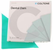 Coltene Hygenic Dental Dam Natural Rubber Non Latex Child Size 5x5 Medium 15box