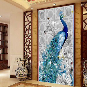 5D-Peacock-Mosaic-DIY-Diamond-Embroidery-Painting-Stitch-Craft-Kit-Cross-Tools