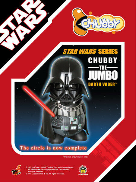 Star Wars   The Jumbo Darth Vader Chubby Figure (2007) Brand nouveau Japan Import Toy  marques en ligne pas cher vente