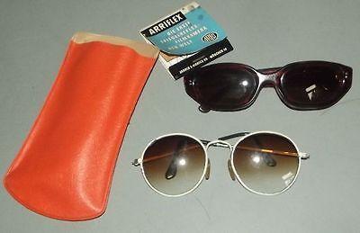 2 stylische Damen Sonnenbrillen gute Trödel kaum gebraucht