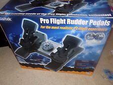 Saitek Pro Flight Rudder Pedals w/Box