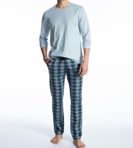 Calida Herren Pyjama Schlafanzug lang Art 41962 100/% Baumwolle Neu/&OVP