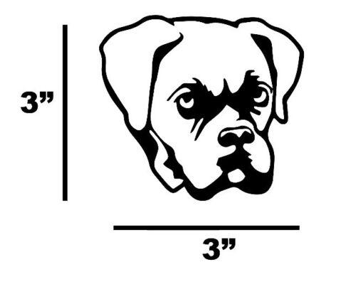 BOXER DOG Vinyl Decal Sticker Car//Truck Laptop//Wall Sticker Decor