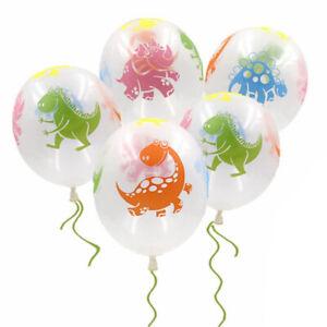 "12"" Green Dinosaurs Latex Balloons Dinosaur Theme Kids Birthday Party Decoration"
