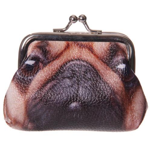 Cute Pug Design Tic Tac Coin Purse Kids Ladies Girls Party Pouch Bag Gift PUR20