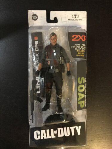 Call of Duty Black Ops 4 Capitaine John MacTavish Savon 2XP Action Figure MCFARLANE