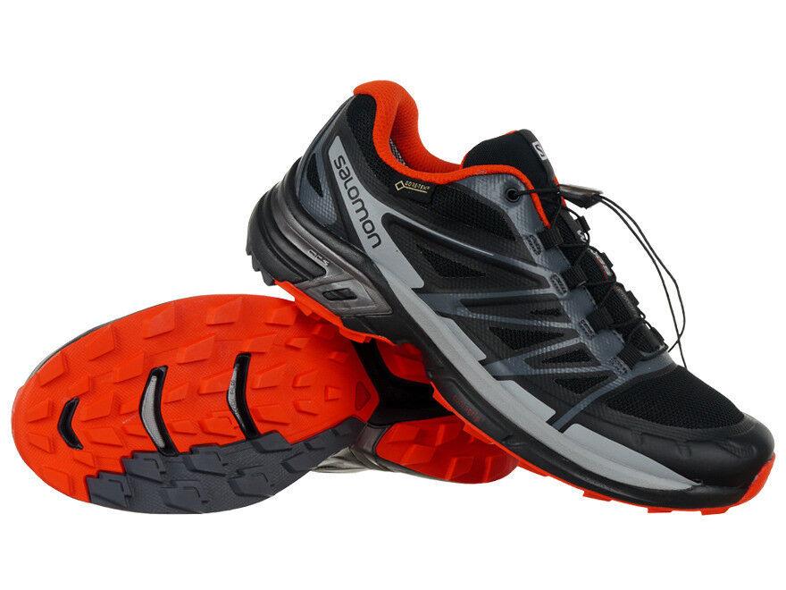 Salomon Wings Pro 2 Gore-Tex Herrenn Schuhe Laufschuhe Trail-Running