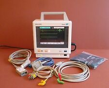 Philips M3,M4 M3046A Colour Patient Monitor Philips M3000A SpO2,NIBP,ECG,Temp