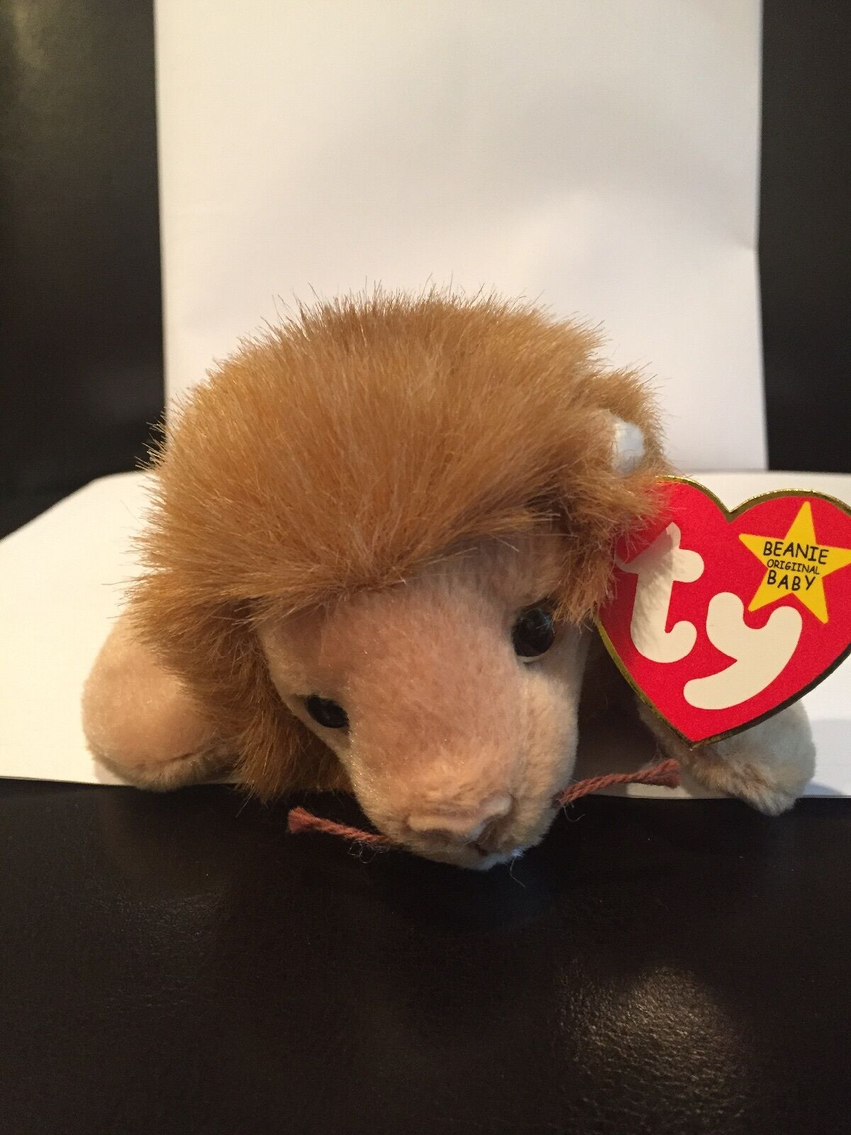 Roary the Lion - Ty Beanie Baby - MINT - RETIRED