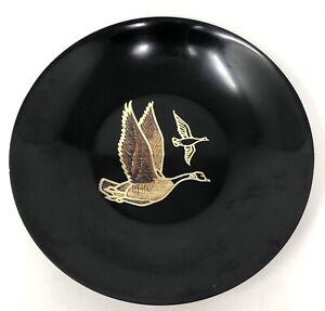 Vintage Couroc Monterey California MCM CANADA GOOSE Limited Edition Inlaid Bowl