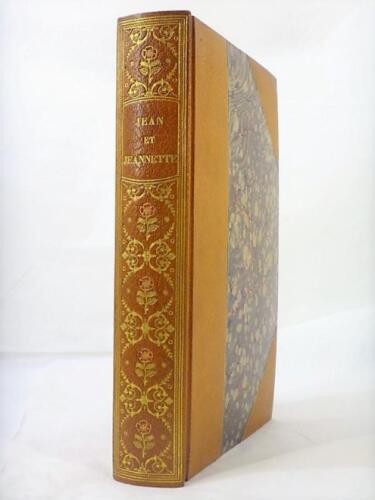 Maroquin-Mosaique-Carayon-1-10-HC-Bibliophilie-Theophile-GAUTIER-Jean-Jeannette