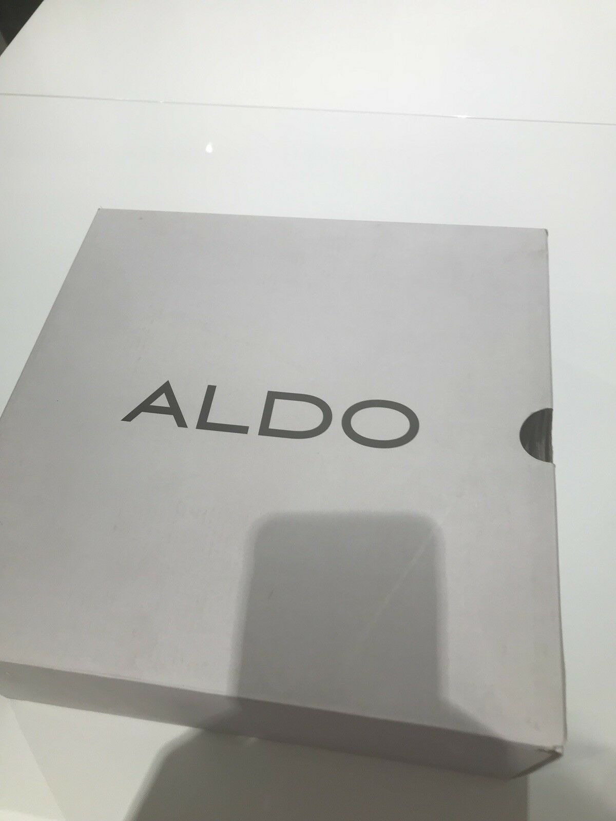 Aldo Black Size 5 Boots With Inbuilt Heel